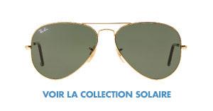 Voir la collection de lunettes solaires Ray-Ban pour homme et femme offertes chez LensCrafters