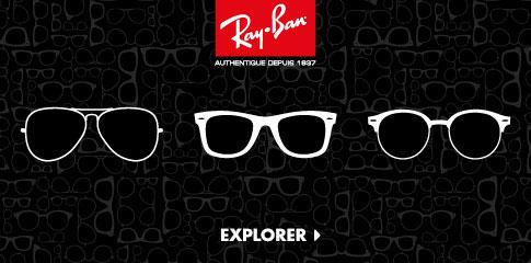 Découvrez les lunettes solaires Ray-Ban de LensCrafters.