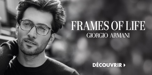 Lien vers les lunettes Giorgio Armani de LensCrafters.