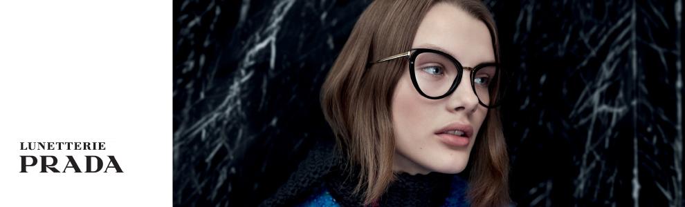 Lunetterie griffée : Découvrez les lunettes et les lunettes solaires Prada