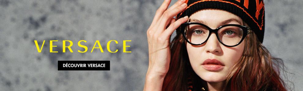 Lunetterie griffée : explorer les lunettes et lunettes solaires Versace