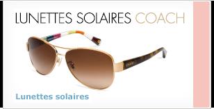 Lunettes solaires Coach de LensCrafters
